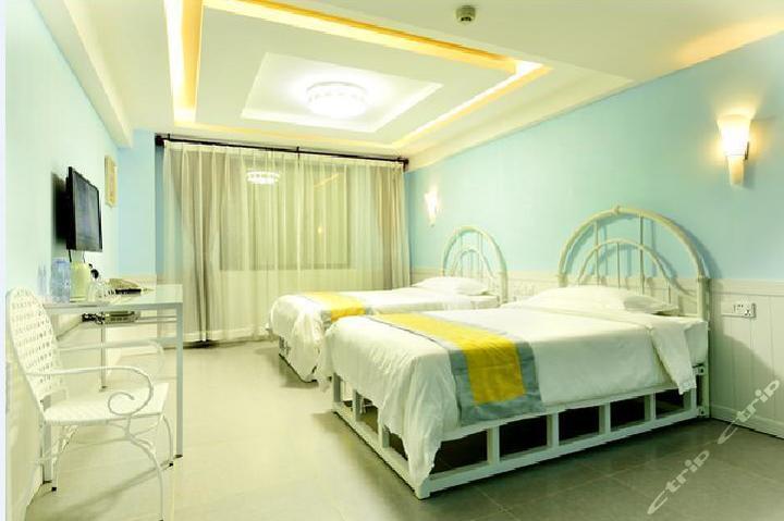自游岛酒店-欧式公寓双标房