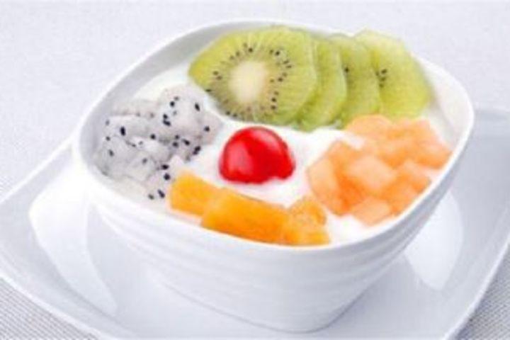 水果撈圖片大全 酸奶西米水果撈圖片 水果撈店鋪裝修圖片