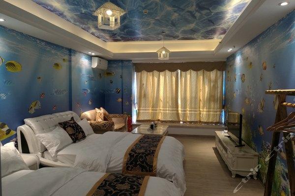 广州长隆隆斯莱斯主题酒店公寓-海底世界亲子房