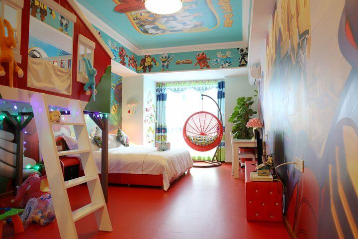 广州长隆儿童动物总动员主题式酒店公寓-快乐酷宝双