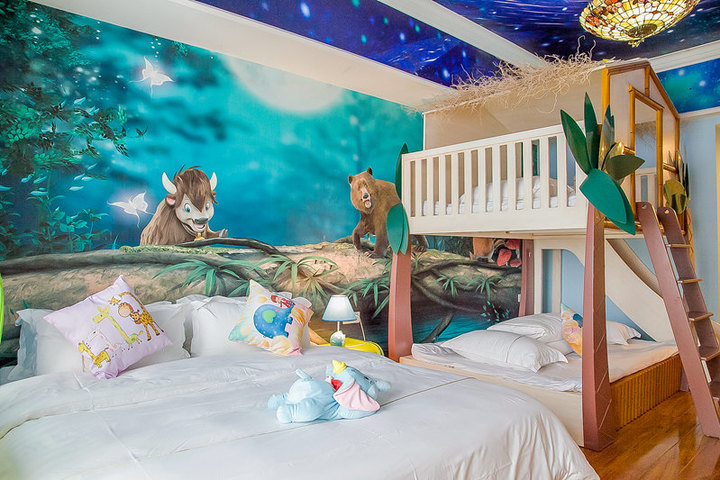 广州长隆儿童动物总动员主题式酒店公寓-梦幻森林