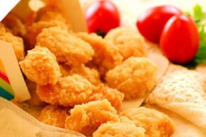 爱奥尔良烤鸡腿(1份,价值6元)  鸡米花(1份,价值6元)  鸡块小可爱