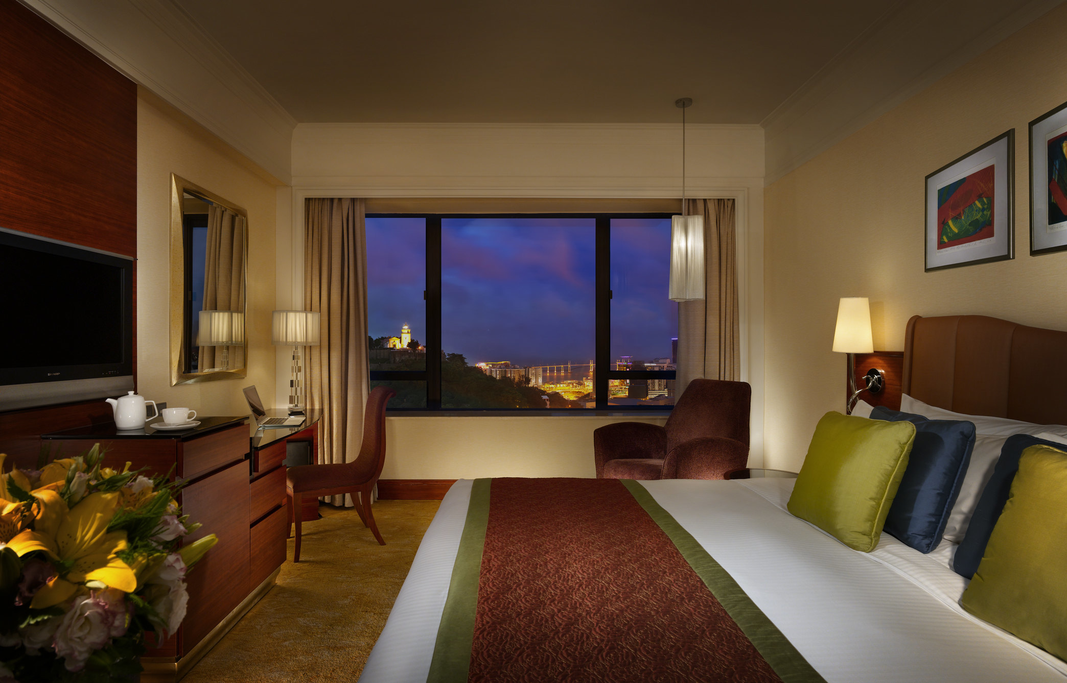 澳门皇都酒店(hotel royal)-高级房(双人入住)