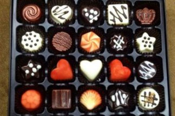 悄悄话手绘巧克力