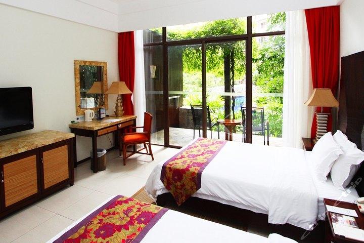 三亚亚龙湾红树林度假酒店-环礁泳池景房[双早]