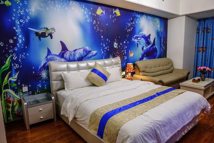 广州长隆快乐时光儿童主题酒店式公寓-海洋世界大床