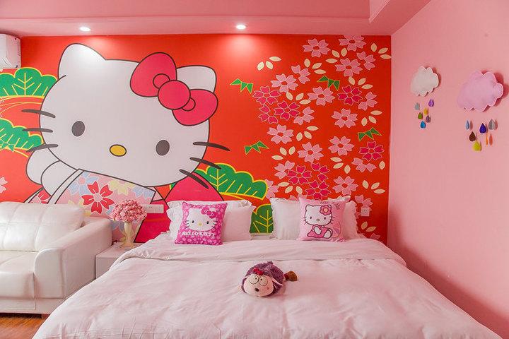 广州长隆儿童动物总动员主题式酒店公寓-欢乐kt猫