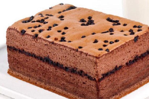 动物脚印的蛋糕图