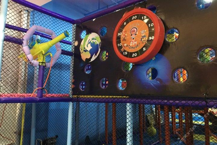 南京淇娃娃儿童游乐园9.9元太空旅行游乐体验活动