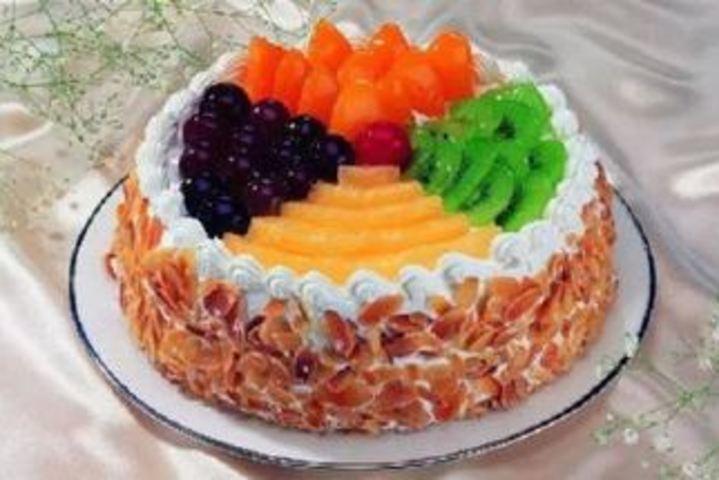 简单4寸蛋糕图案
