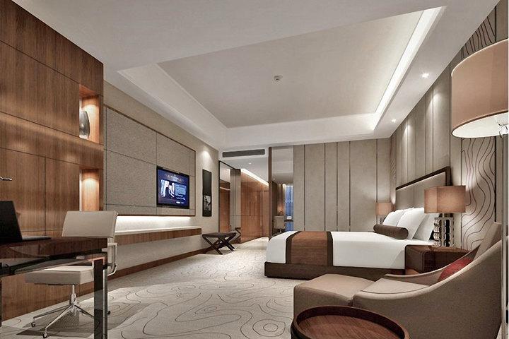 芜湖悦圆方酒店(豪华房 方特景点亲子套票3选1)