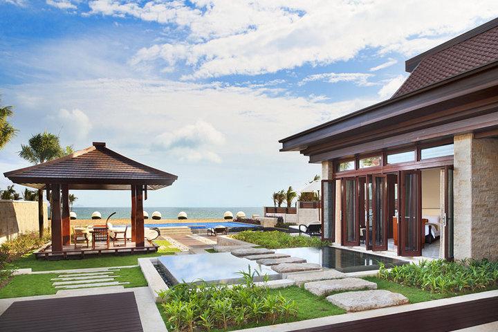 三亚别墅别墅设计图展示一般多少海景要平方米钱一图片