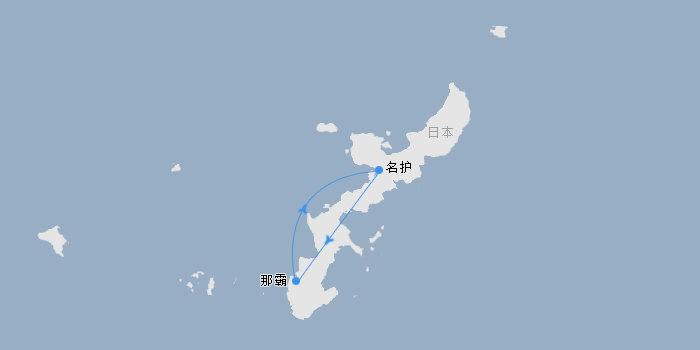 超级冲绳一地4日游