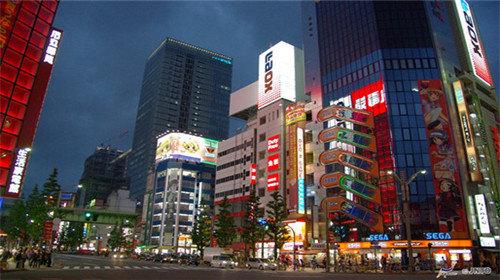 东京建筑卡通图片