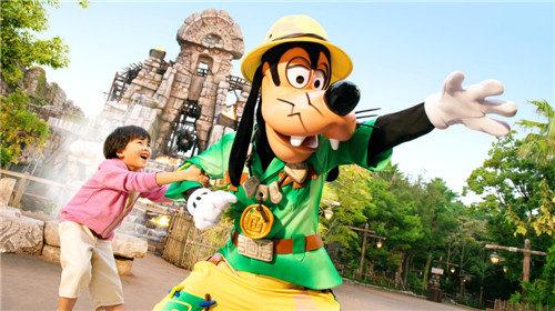 迪士尼乐园矢量