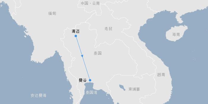 泰国·曼谷+清迈 遁世之旅6天(成都、广州出发)