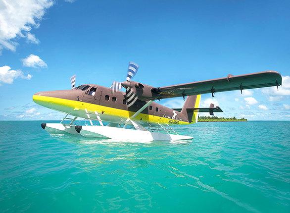 您将乘坐专属水上飞机前往白马酒店,酒店私人管家已准备好一切迎接您