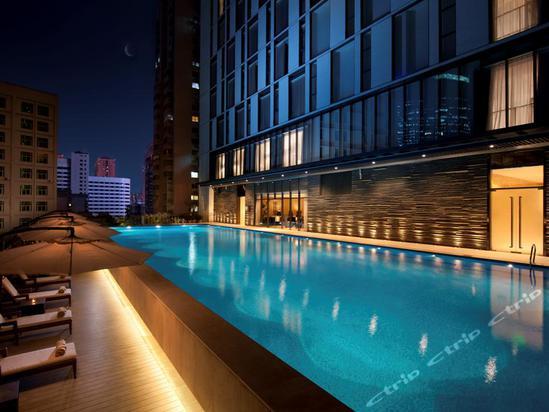 广州天河新天希尔顿酒店 - 城市吧街景地图