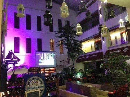 欧式西餐厅内景