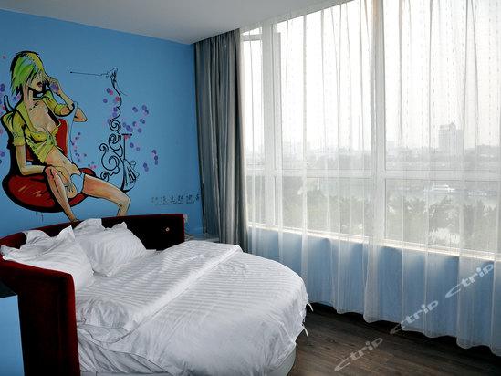 动漫宾馆素材背景