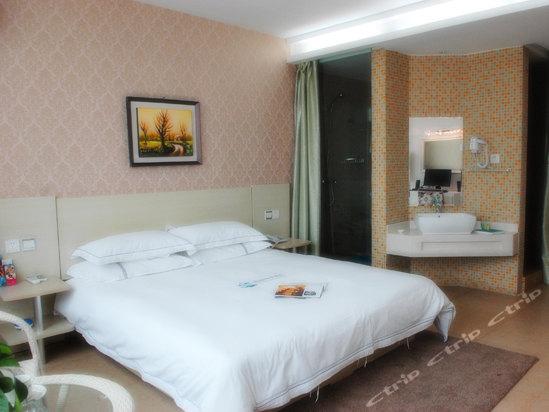 宁波览海语言酒店富有棕榈故事的情趣a语言图片