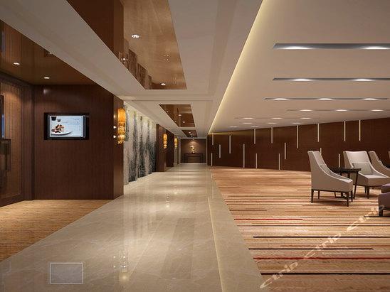 商务酒店大堂前厅设计_发型设计图片