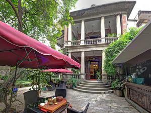 厦门乔治老别墅木屋v别墅旅馆一地离米别墅层咖啡一图片