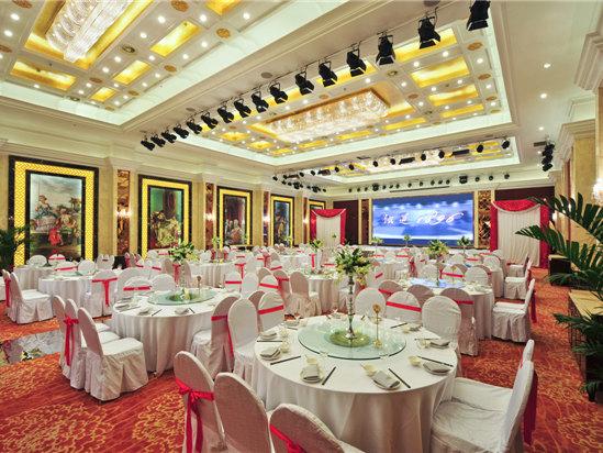 欧式宴会大厅窗帘图片