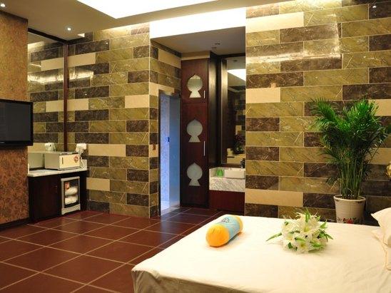 欧式spa会所浴缸设计