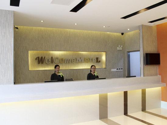 酒店前台接待台内部设计图展示