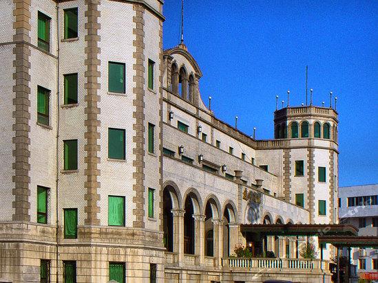 建筑风格的旅游涉外宾馆