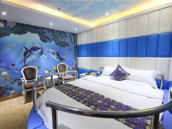 宾馆主题房设计图