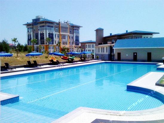 莆田湄洲岛海景大酒店主体采用别墅