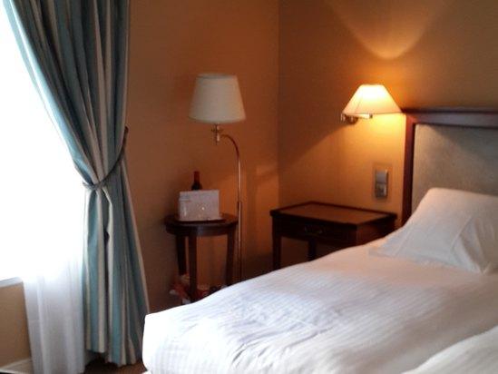 酒店房间内部