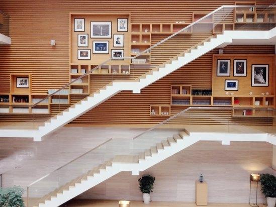 景区钢结构楼梯
