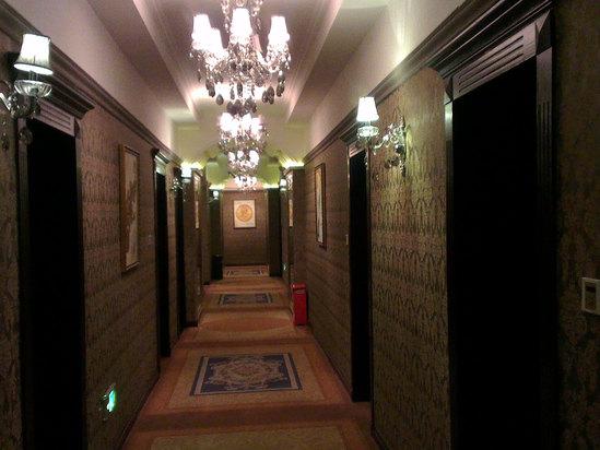 欧式古典酒店前台
