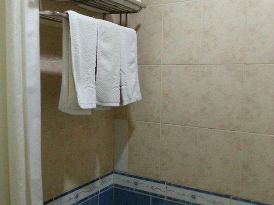 酒店淋浴怎么用图解