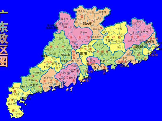 广州市各区高清地图
