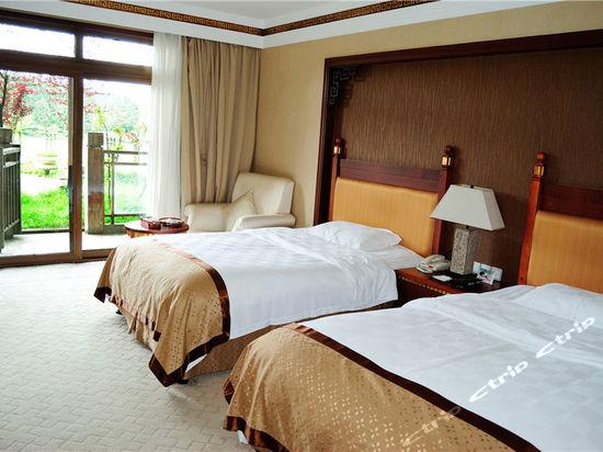 武隆仙女山假日酒店周边酒店带上海别墅图片