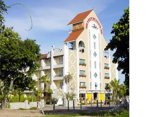 bellavillaservicedapartmentpattaya(芭堤雅贝拉别墅式车库别墅酒店cad公寓大小图片