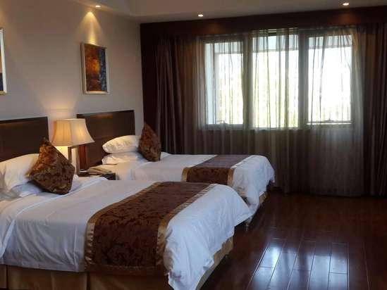 武隆仙女山大卫营度假酒店效果图联排别墅绿化图片