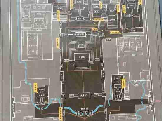 快捷宾馆手绘平面图
