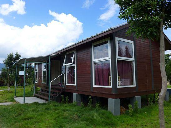 很别致的小木屋,很适合安静的享受假期