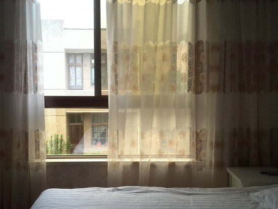 酒店窗户背景素材