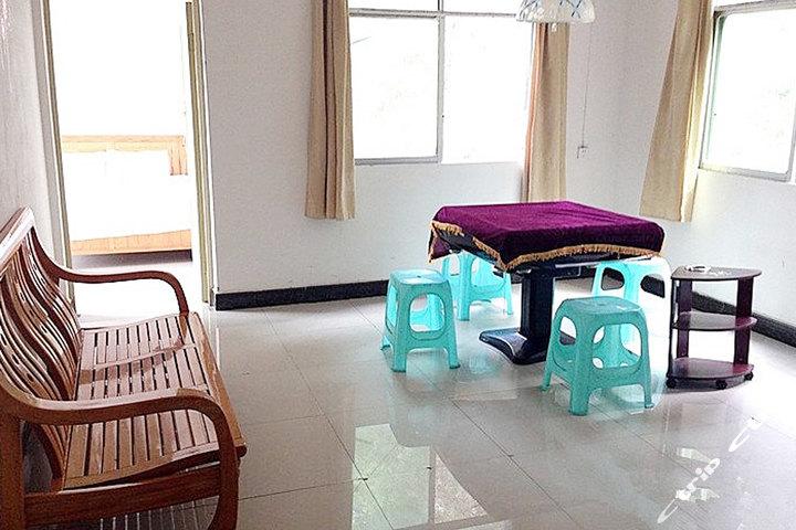 贵阳三人行宾馆—双人床麻将房房间设施