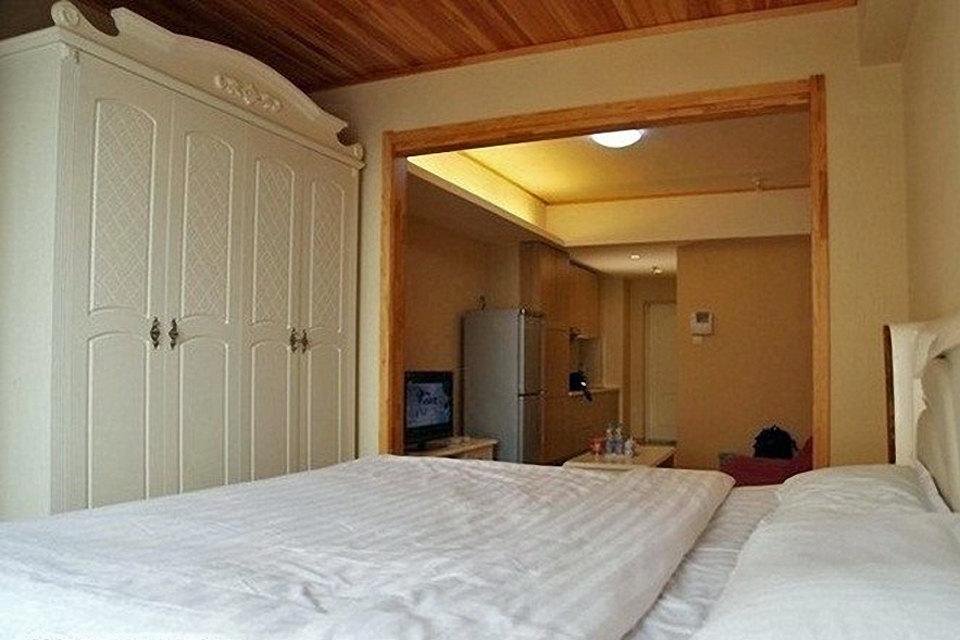 日式主题大床房团购图片