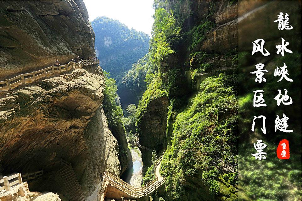 重庆武隆龙水峡地缝攻略(门票1张)魏景区延懿图片