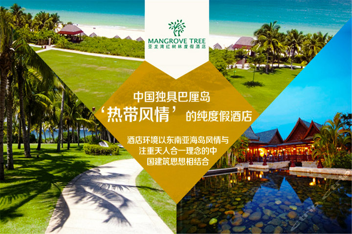 三亚亚龙湾红树林-豪华海景/环礁泳池景房