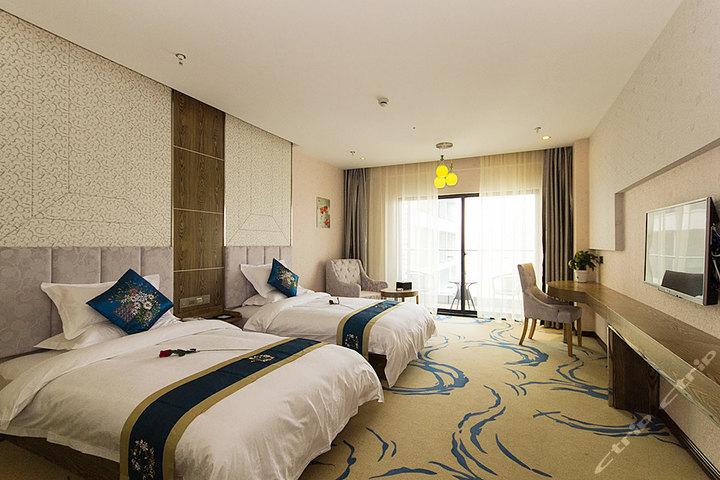 杭州铂悦蓝湾酒店(高级大床房/高级标准间)团购-杭州