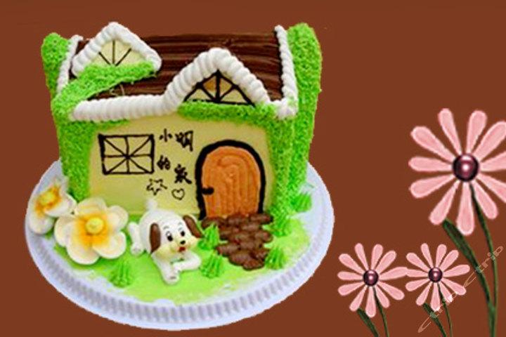 产品:                                   金利发12寸小房子蛋糕